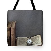 Pocket Watch Tote Bag