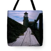 Point Conception Lighthouse Tote Bag
