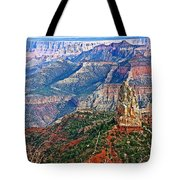Point Imperial 8803 Feet On North Rim Of Grand Canyon National Park-arizona  Tote Bag