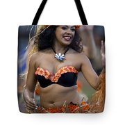 Polynesian Dancers Tote Bag
