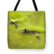 Pond Turtles Tote Bag