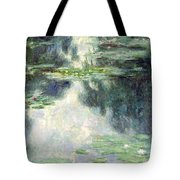 Pond With Water Lilies Tote Bag