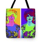 Pop Art Girl Tote Bag