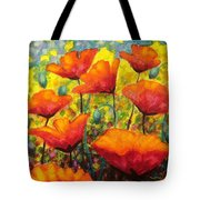 Poppy Corner Tote Bag