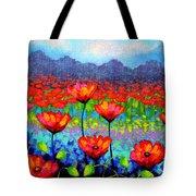 Poppy Vista Tote Bag