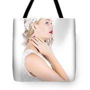 Portrait Of A Beautiful Bride Tote Bag