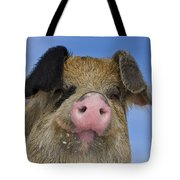 Portrait Of A Boar Tote Bag