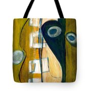 Portrait Of A Humble Man Tote Bag