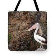 Portrait Of An Australian Pelican Tote Bag
