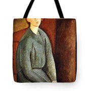 Portrait Of Annie Bjarne Tote Bag