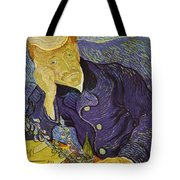 Portrait Of Doctor Gachet Tote Bag