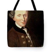 Portrait Of Emmanuel Kant Tote Bag