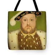Portrait Of Henry Viii Tote Bag