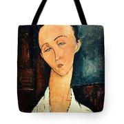 Portrait Of Lunia Czechowska Tote Bag
