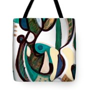 Portrait Of My Innocence Tote Bag