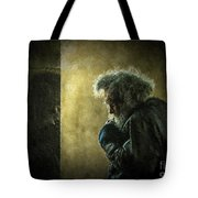 Portrait Of The Homeless Tote Bag