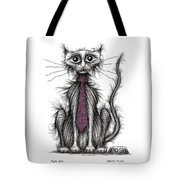 Posh Cat Tote Bag