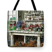 Potting Bench Tote Bag