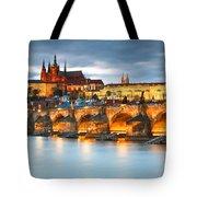 Prague Castle. Tote Bag