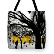 Prague Winter  Tote Bag