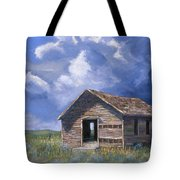 Prairie Church Tote Bag by Jerry McElroy