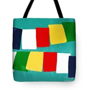 Prayer Flags Tote Bag by Linda Woods