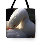 Preening Goose Tote Bag