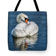 Preening The Feathers Tote Bag