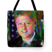 President William J. Clinton Tote Bag by Official White House Photograph