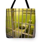 Prison Cell Alcatraz Island Tote Bag