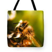 Process Of Pollination Tote Bag