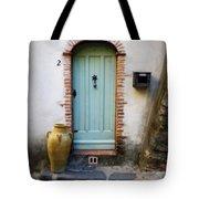 Provence Door Number 2 Tote Bag