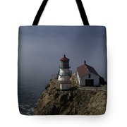 Pt Reyes Lighthouse Tote Bag by Bill Gallagher
