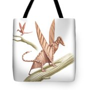 Pterandon, Illustration Tote Bag
