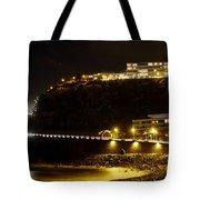 Puerto De La Cruz By Night Tote Bag