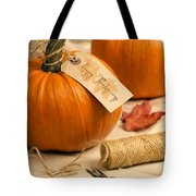 Pumpkins For Thanksgiving Tote Bag