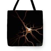 Pyramidal Neuron Tote Bag