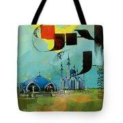 Qol Sharif Mosque Tote Bag