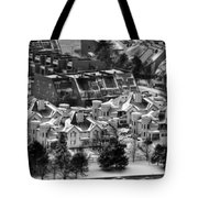Queen City Winter Wonderland After The Storm Series 0028b Tote Bag