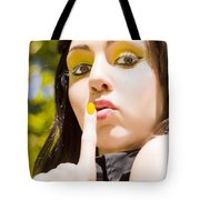 Quiet Whisper Tote Bag
