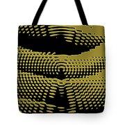 Radial Gold Tote Bag