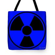 Radiation Warning Sign Tote Bag