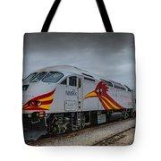 Rail Runner Locomotive Tote Bag