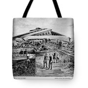 Railroad Accident, 1887 Tote Bag