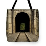 Railroad Tunnel 3 Bnsf 1 B Tote Bag