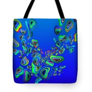 Rainbow Blue Tote Bag
