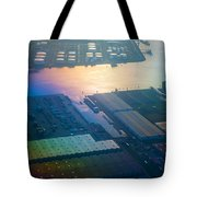 Rainbow Earth 3. Somewhere Over Netherlands Tote Bag