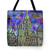 Rainbow Temple Tote Bag