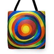 Rainbow Vertigo Tote Bag