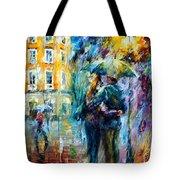 Rainy Date Tote Bag